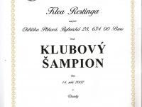 Klubovy sampion Klea
